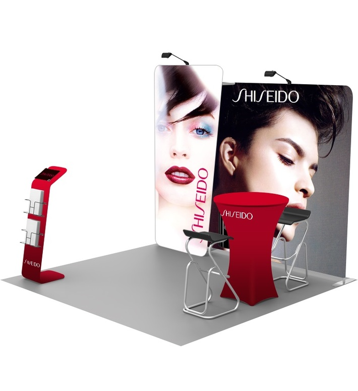 Curved Pop Up Displays | Portable & Reusable For Any Events | Georgia