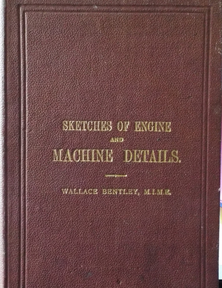 Sketches of Engine Machine Details(1918)