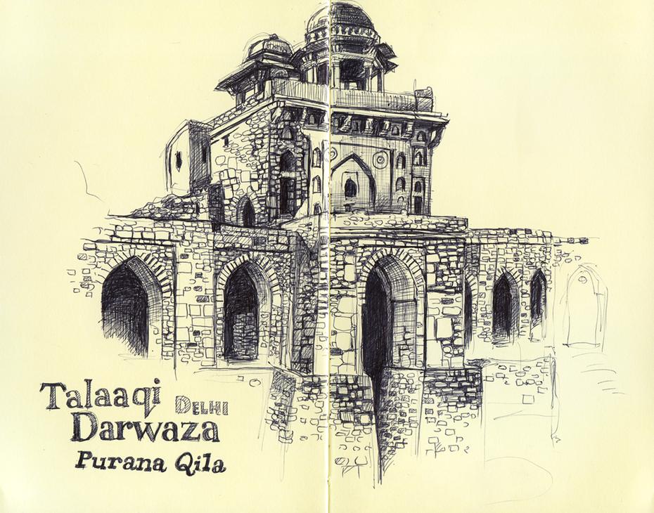 Purana Qila - Delhi