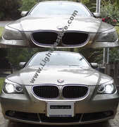 BMW_530i_headlights_BnA_lightrestore_com_logo