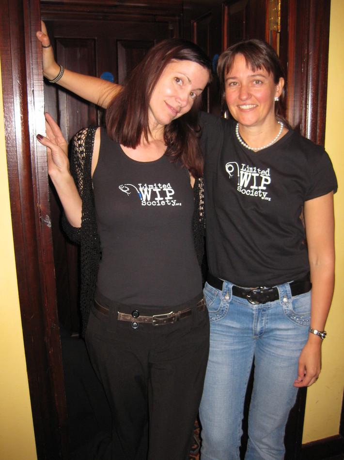 Janice and Christina