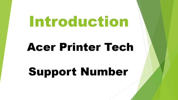 Acer Printer Tech Support Number