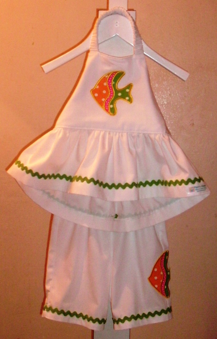 fish halter outfit