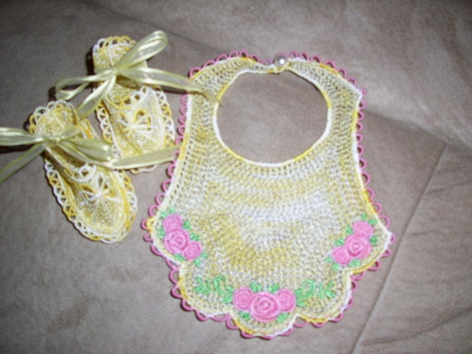 FSL baby bib set