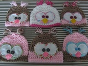More owl hats for craft fair ...