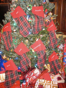 Merry Stockings Personalized
