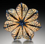 Wm. Morris Sebo divided brooch