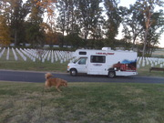 RV in M and D cemetary