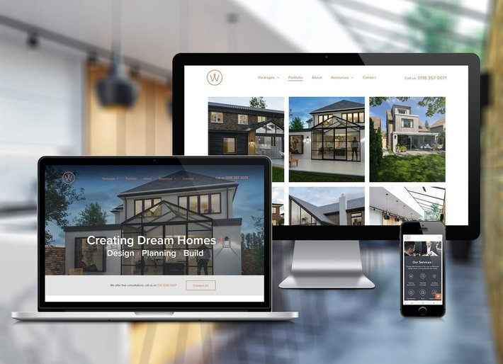 Architectural Design Studio Website Up and Running