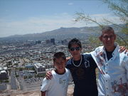 Me & my children @ El Paso's Scenc Drive July 28, 2007