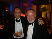 Peter James and Mike Robotham