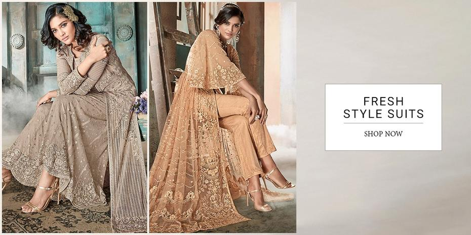 Latest Indian Sharara Suits Online Shopping at Panash India