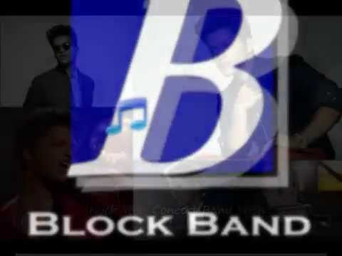 """Tribute to Bruno Mars"" by Block Band for Concert Band - Group Size C"