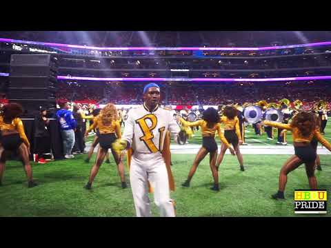 "PVAMU ""Marching Storm"" Drum Majors Break It DOWN @ Honda 2018"