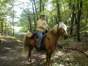 Me on Cody at Maplewood SP in MN