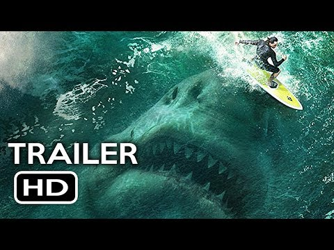 The Meg Official Trailer #1 (2018) Jason Statham, Ruby Rose Megalodon Shark Movie HD