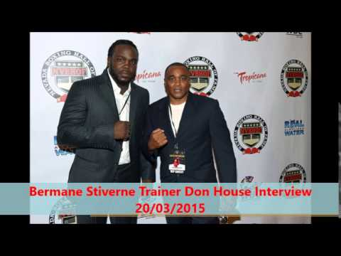 Exclusive:DON HOUSE SLAMS STIVERNE ATTITUDE TO BOXING