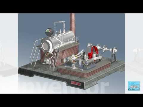 CADCollege leerboek Inventor. Animatie door Boely Hofstede