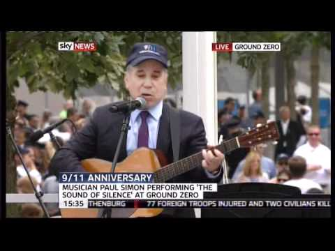 "Paul Simon - ""The Sound of Silence"" - 9/11 Ground Zero"
