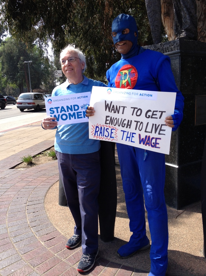 Peter Rothenberg & DangerMan Stand Up for Women's Rights