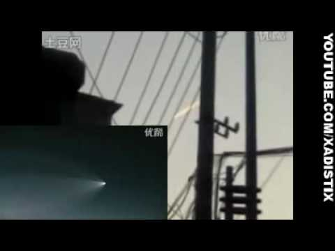 UFO Shuts Down Chinese Airport: Live Video Footage (7/7/2010) English Audio
