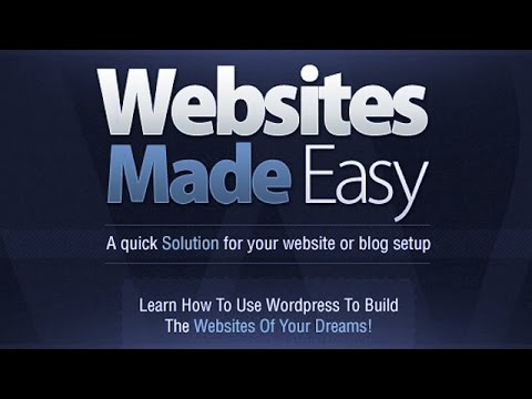 How To Make A Website With WordPress - Beginners Tutorial