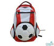 3D Football Backpack Wholesale