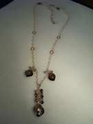 Regal Smokey Quartz Necklace