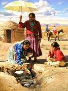 indias cozinhando