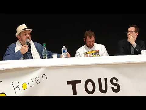 Conférence régionale à Rouen avec François Boulo, Jérôme Rodrigues , Hakim Löwe, Philippe Pascot #1
