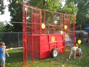 The dunking booth