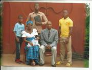 Rev. Fidelis O. Nwaka's Family in Nigeria