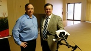 Chad Colby and Joe Dales talk drone at UAP event