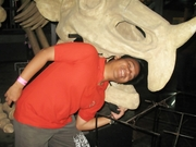My brother biten by the  ancient reptile's .. lol