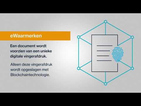 Infographic eWaarmerk 2019