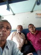 we r in train to Nepal boarder