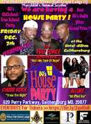 80's House Party Prince Hall Masons of Maryland