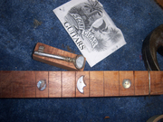 Old Glory neck Inlays pre fret