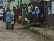 Dry Lagos as people strife to get water