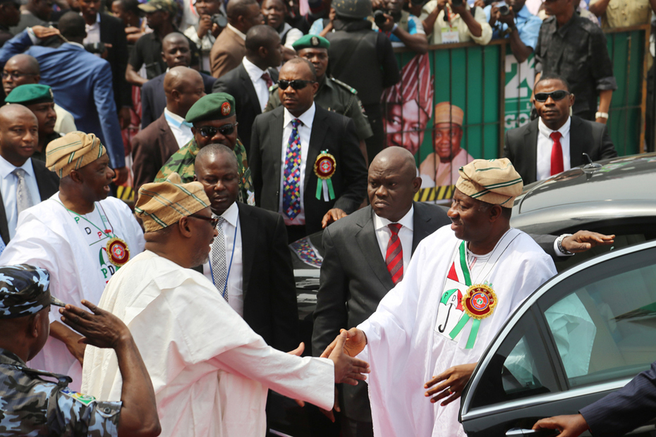 P D P PRESIDENTAL RALLY IN LAGOS 5