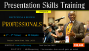 Presentation skills training for technical and business professionals February 2014 - LiveSpeech - b