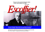 Escoffier one sheet