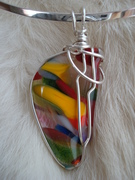 Recycled Glass Pendant