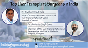 World's Top Liver Transplant Surgeons Available In India