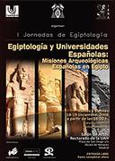 EGIPTOLOGIA Y UNIVERSIDADES ESPAÑOLAS