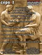 Las mujeres en la antigüedad Griega: Diosas y Humanas. - on line.