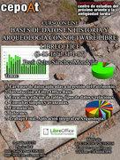 Bases de datos en historia y arqueología con software libre: Libreoffice. - On Line. (1-11-16 al 31-1-17)
