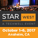 STARWEST 2017—Software Testing Conference in Anaheim