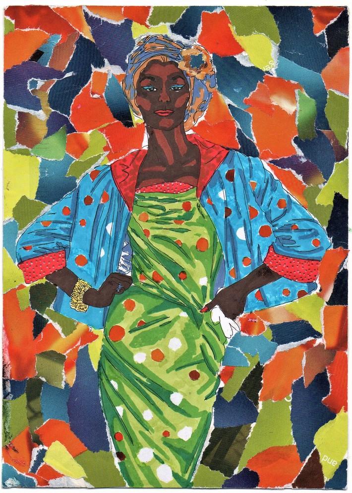 Stunning card by Lani Burshtein.
