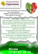 Soirée Pique Nique Végétalien à Montpellier